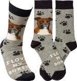 I Love My Boxer Socks By Kathy