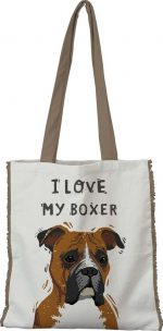 Boxer Tote Bag Uncropped Ears