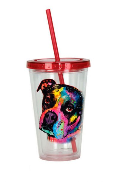 Boxer Tumbler – Double Walled Acrylic 16 Ounces 1