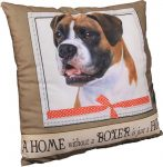Boxer Pillow 16x16 Polyester Uncropped
