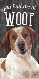 Brittany Sign - You Had me at WOOF 5x10