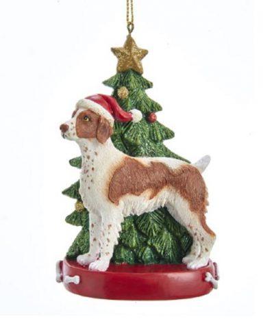 Brittany Tree Ornament