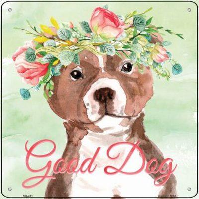 bull-terrier-metal-dog-sign-brown