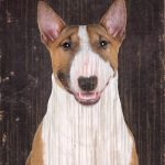 Bull Terrier Sign – I Love My 5×10 1