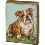 Bulldog Art Block