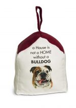 Bulldog Door Stopper 5 X 6 In. 2 lbs. - A House is Not a Home