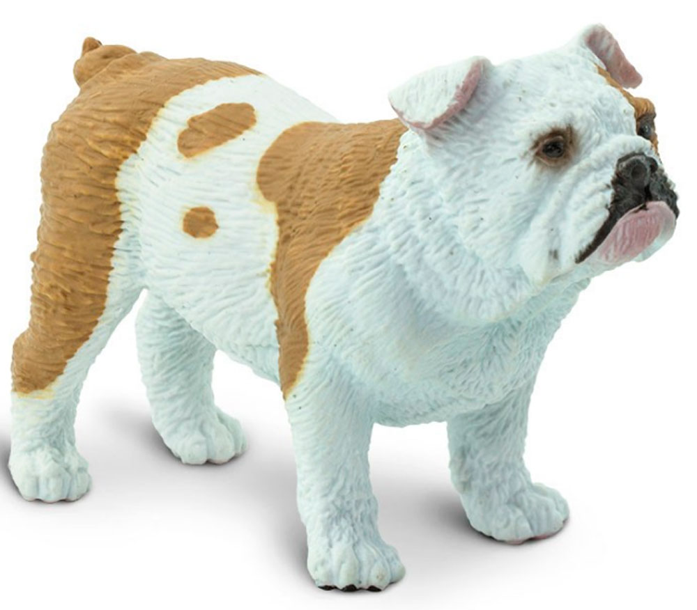 Bulldog Figurine Toy