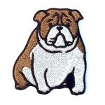 bulldog-iron-on-embroidered-patch