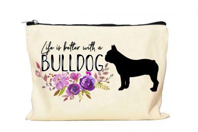 Bulldog Makeup bag