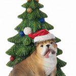 Bulldog Christmas Tree Ornament 1