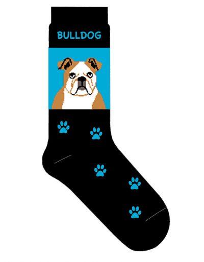 bulldog-socks-blue