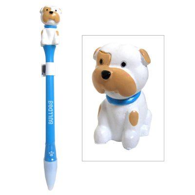 bulldog-writing-pen-animated
