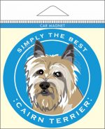 Cairn Terrier Car Magnet 4x4""