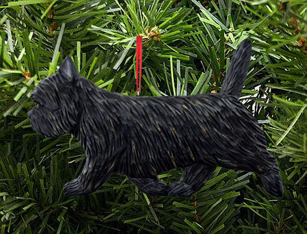 Cairn Terrier Sign Plaque Wall Decor Black Brindle