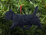 Cairn Terrier Ornament Gray