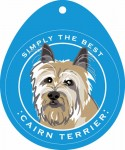 Cairn Terrier Sticker 4x4""