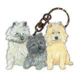 cairn_terrier_wooden_keychain