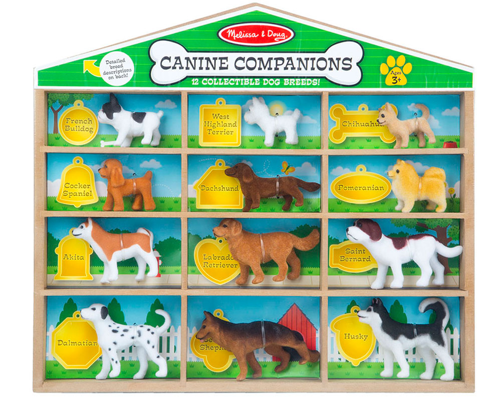 Canine Companions Dog Figurines