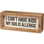 My Dog is Allergic Sign