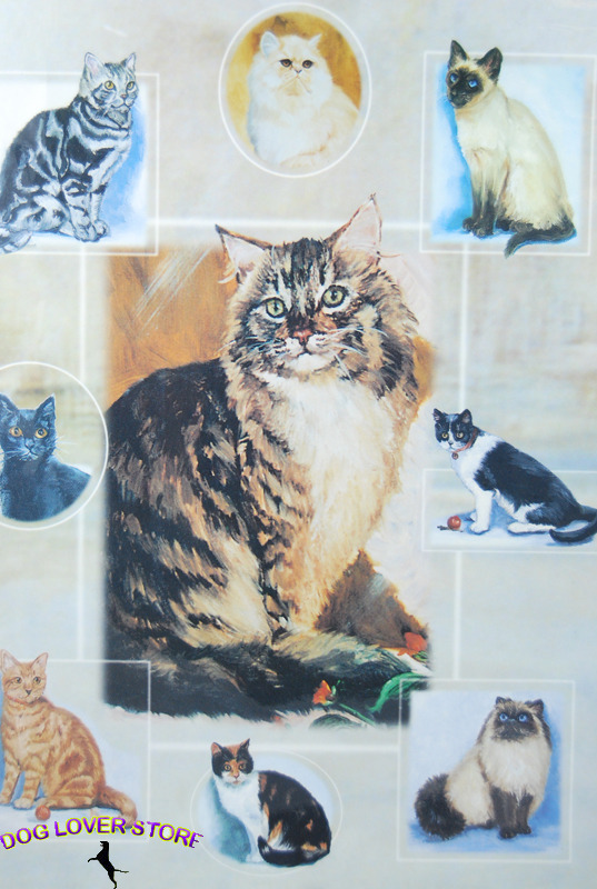 Cat Gift Wrap Present Wrapping Paper