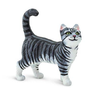 Safari Gray Tabby Cat