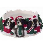 Cavalier Candle Topper Black