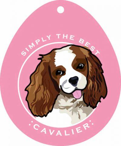 Cavalier King Charles Sticker 4×4″ 1