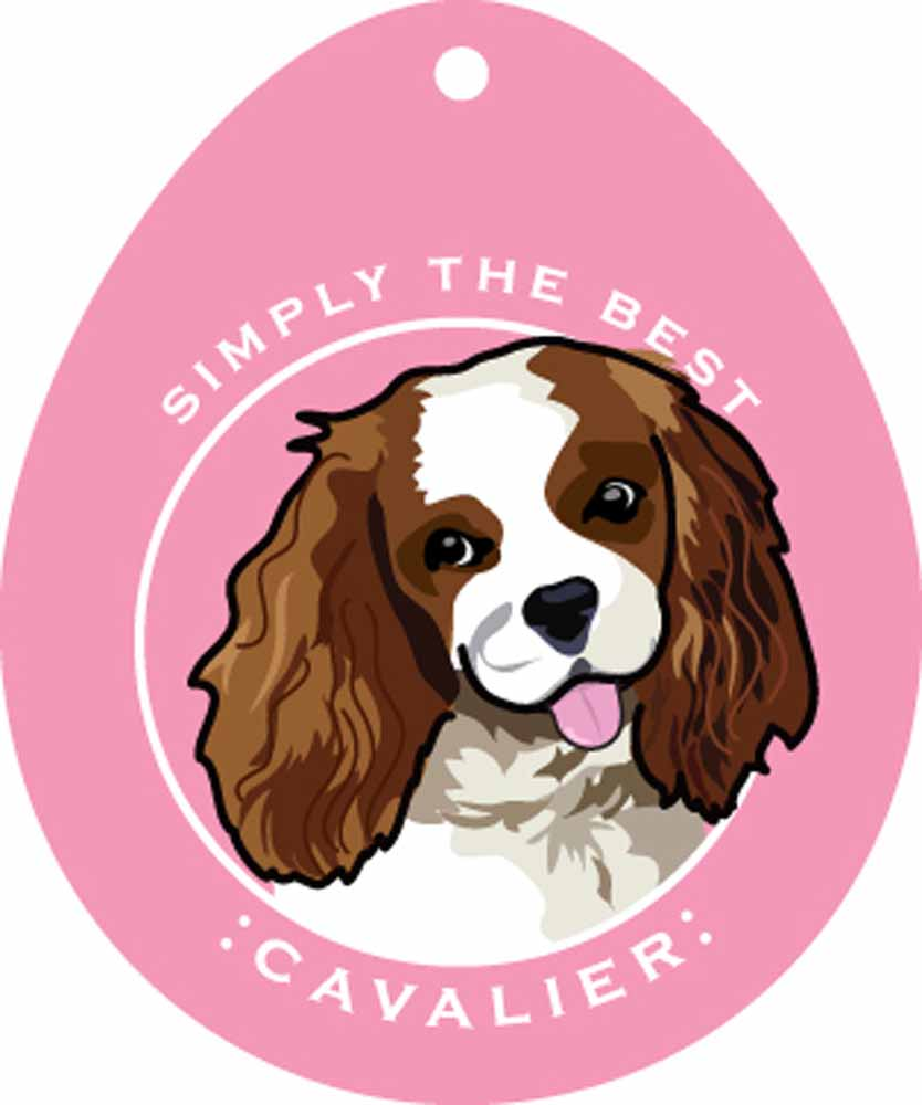 Cavalier King Charles Sticker 4x4""