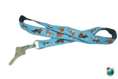 Cavalier King Charles Lanyard Key Holder Badge Holder 1