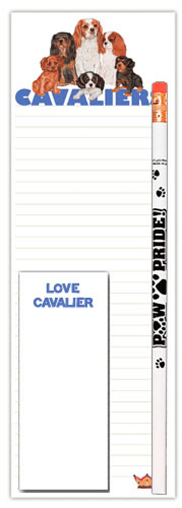 Cavalier King Charles List Pad