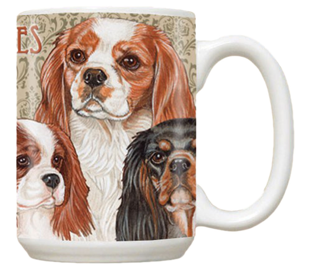 Cavalier King Charles Mug 15 Ounces