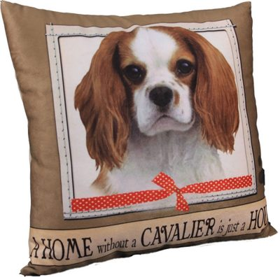 Cavalier King Charles Pillow 16×16 Polyester 1