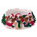 cavalier-king-christmas-candle-holder-brown