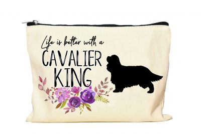 Cavalier King Charles Spaniel Makeup Bag