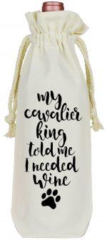 Cavalier King Wine Bag