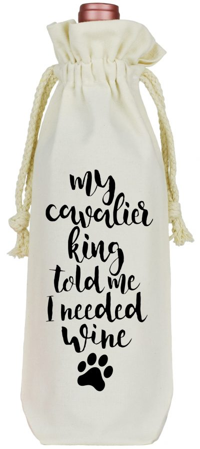 Cavalier King Wine Bag