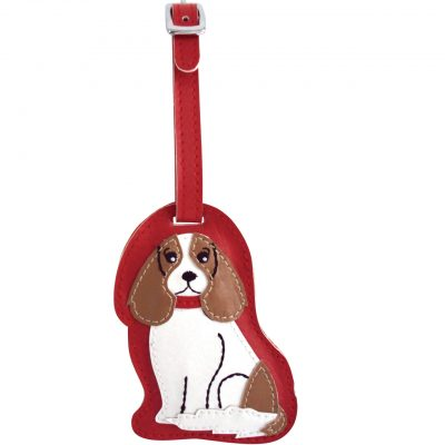 Cavalier King Charles Dog Luggage Tag Briefcase Gym Backpack Travel ID 1