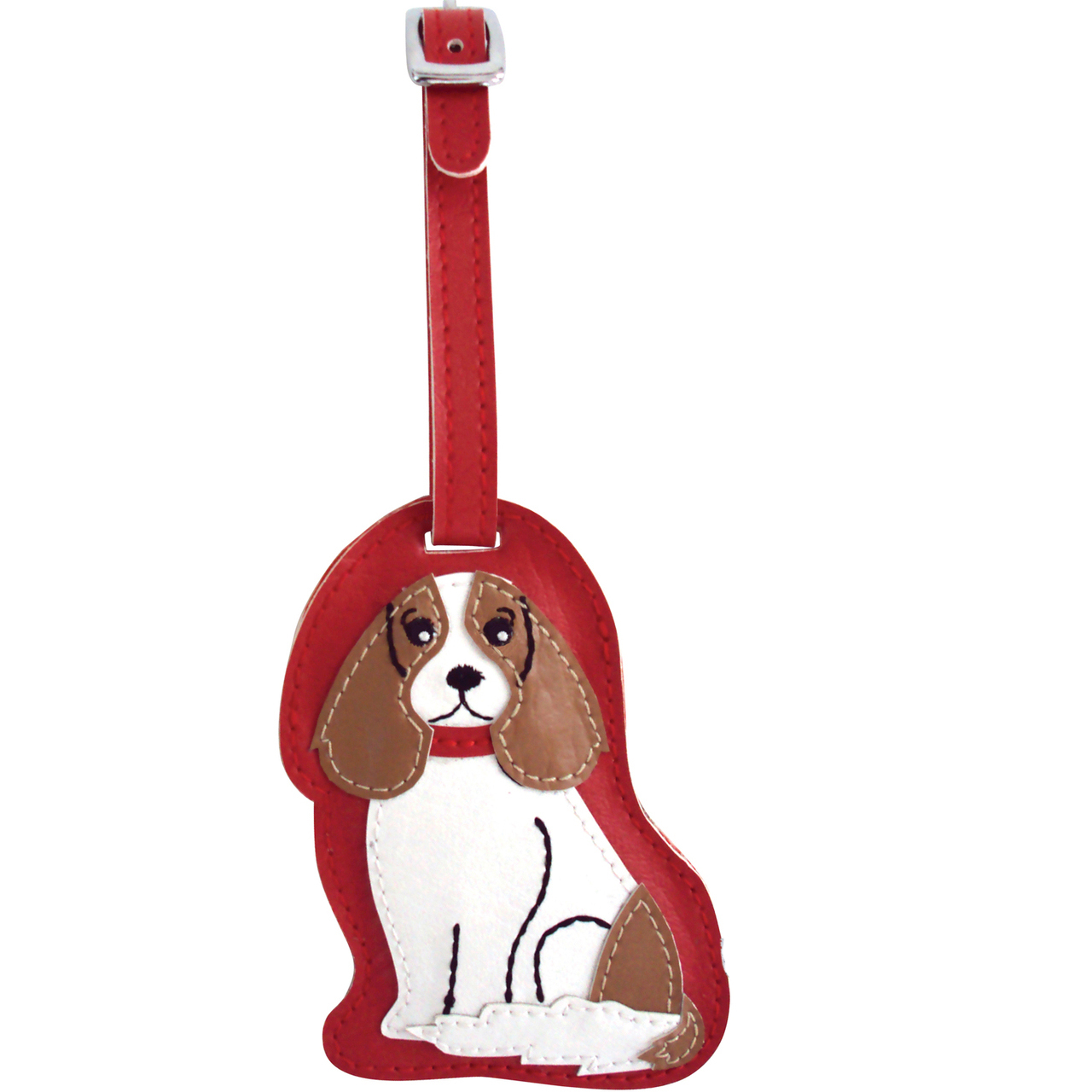 Cavalier King Charles Dog Luggage Tag Briefcase Gym Backpack Travel ID