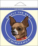 """Chihuahua Car Magnet 4x4"""""""
