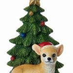 Chihuahua Christmas Tree Ornament 1