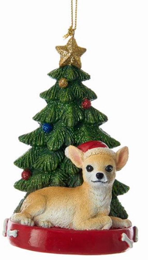 Chihuahua Christmas Tree Ornament -