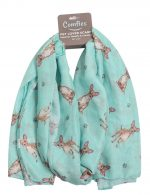 Chihuahua Scarf -Lightweight Cotton Polyester Tan