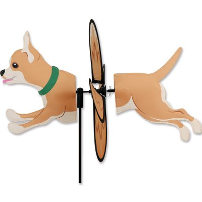 Chihuahua Garden Wind Spinners 1