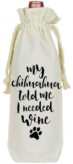 Chihuahua Wine Bag