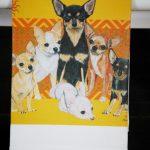 Chihuahua Kitchen Hand Towel 2