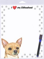 Chihuahua Tan Dog Memo Board