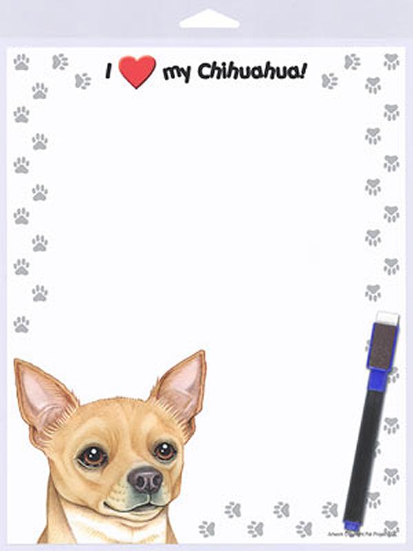 Chihuahua Tan Dog Memo Board