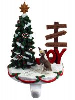Chinese Crested Stocking Holder Hanger