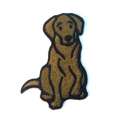 chocolate-lab-patch