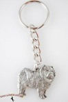 Pewter Dog Keychains